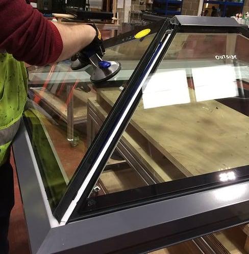 Skylight Manufacturing Process
