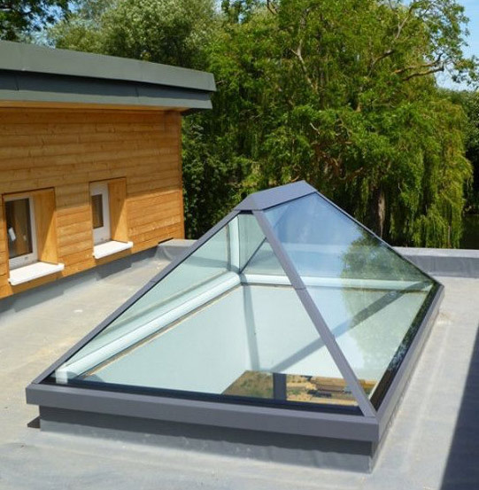 Pyramid Lantern Skylight