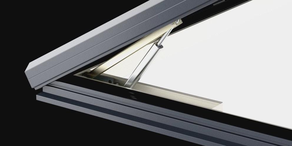 Bespoke Aero Dual Skylight