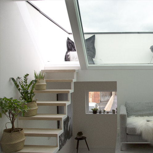 Aero Electric Roof Access rooflight