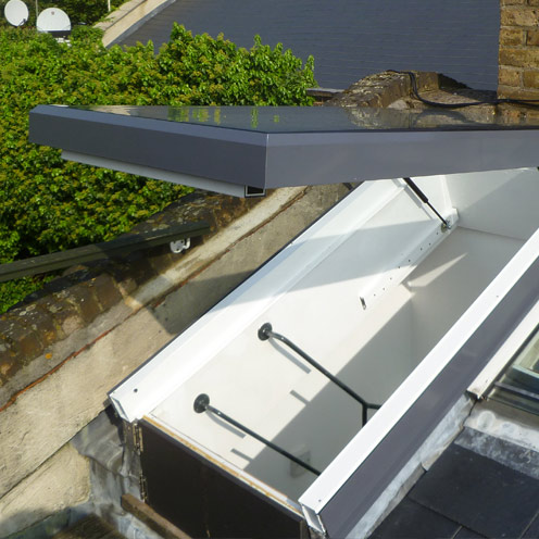 Aero Electric Roof Access skylight